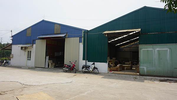 Hệ thống xưởng tại Thạch Thất và Long Biên luôn sẵn sàng phục vụ khách hàng