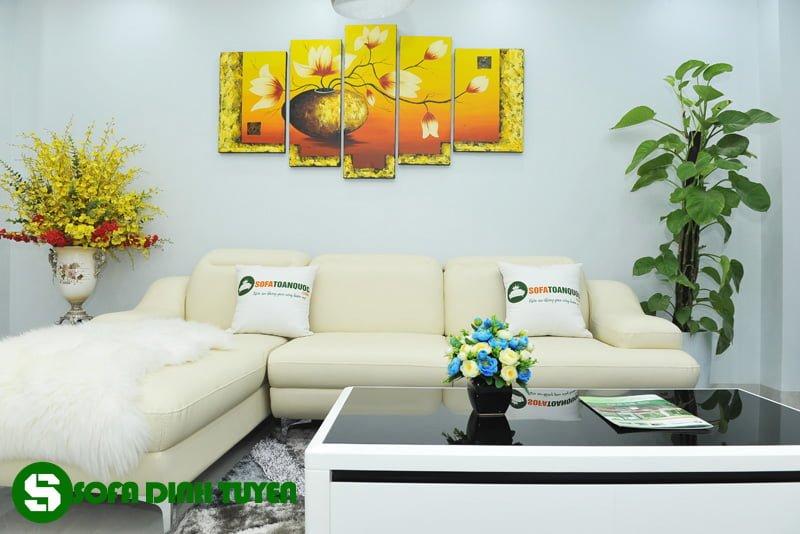 sofa góc cho phòng giám đốc