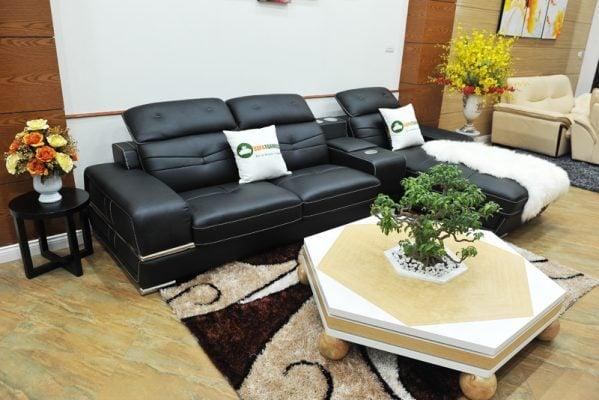 Mẫu sofa da góc hiện đại và sang trọng bậc nhất hiện nay trên thị trường