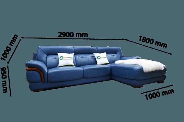 Kích thước nhỏ gọn phù hợp với những không gian phòng khách nhỏ, phòng khách chung cư bình dân, chung cư mini