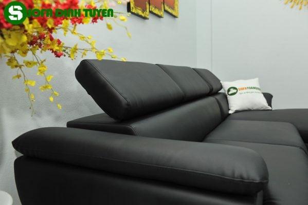Kiểu dáng sofa góc phải nhỏ gọn mở rộng diện tích sinh hoạt trong gia đình
