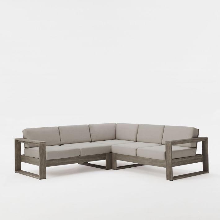 Kiểu sofa góc gỗ tiện dụng cho phòng khách sang trọng