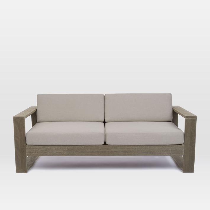 Bộ sofa văng gỗ nhỏ gọn tiện dụng mang phong cách hiện đại
