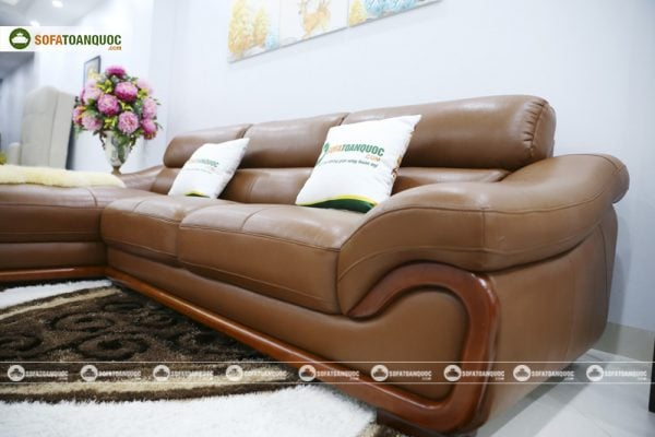 ghế sofa da microfiber