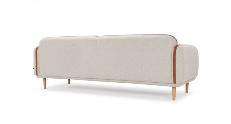 bộ ghế sofa màu xám sang trọng