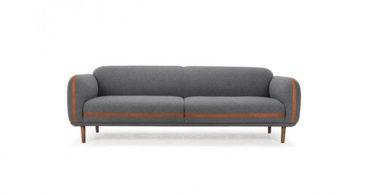 bộ ghế sofa màu xám tro