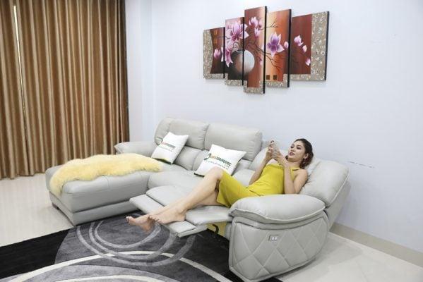 Chiếc ghế sofa biến thành chiếc giường ngủ êm ái và thoải mái