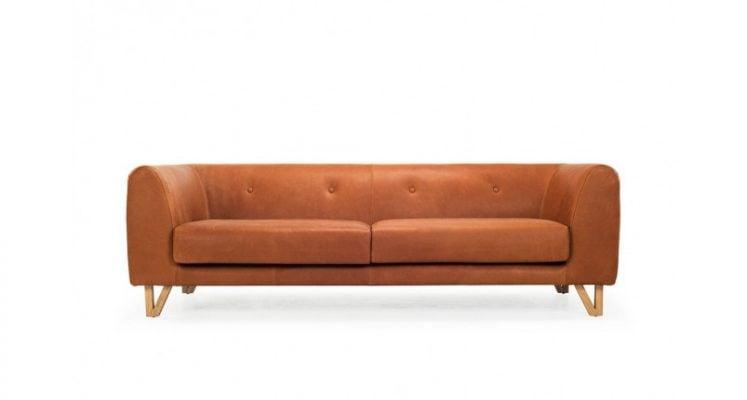 Sofa văng da đẹp cho phòng khách gia đình