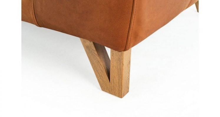 sofa chân ghế gỗ sồi