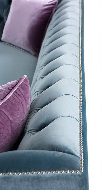 ghế sofa bọc vải nhung đẹp