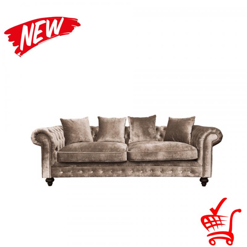 ghế sofa tân cổ điển bọc vải nhung đẹp