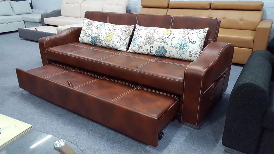 ghế sofa giường bọc da đẹp
