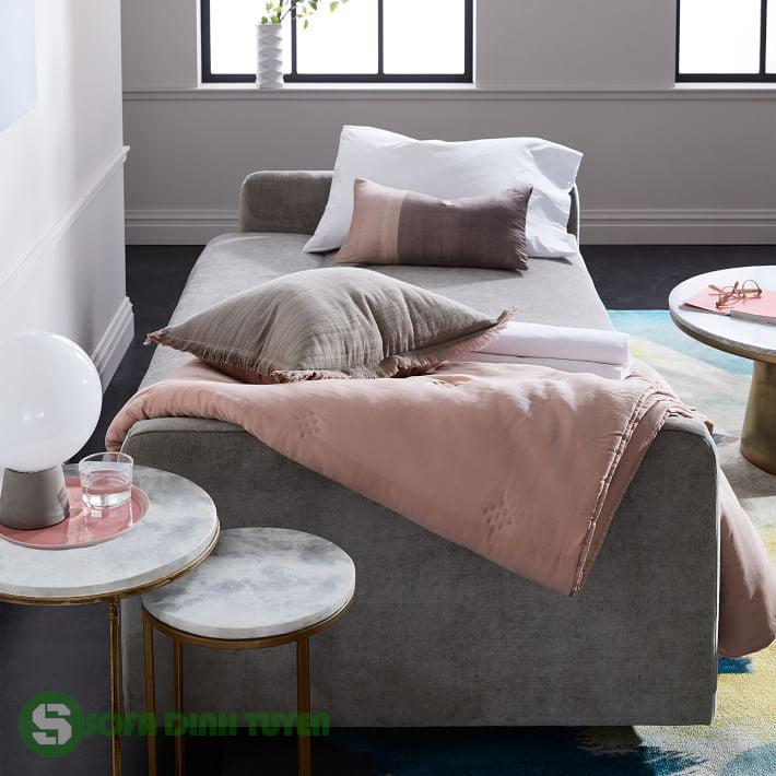 ghế sofa giường bọc nỉ đa năng