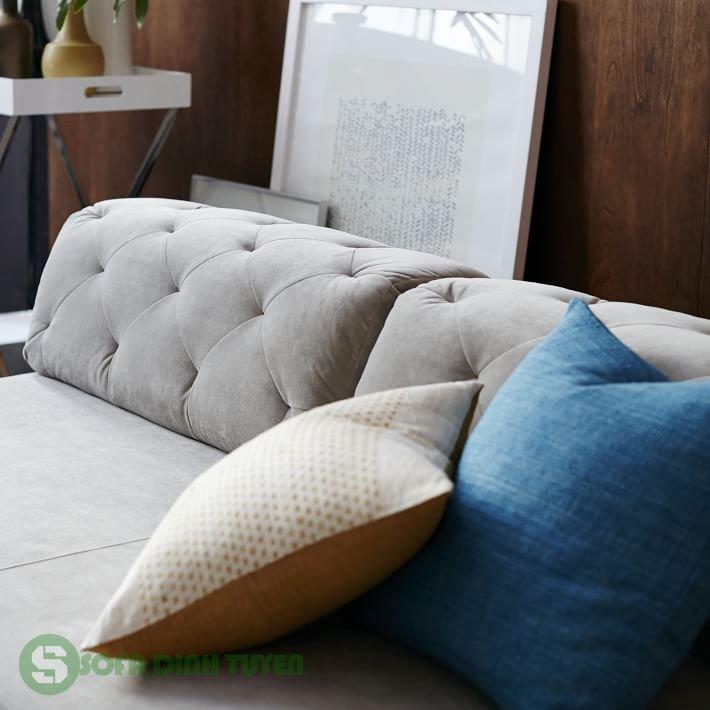ghế sofa bed bọc nỉ đẹp