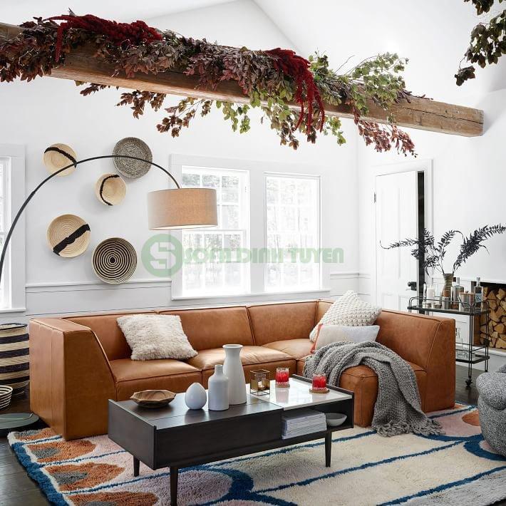 màu sắc bộ ghế sofa màu vàng bò