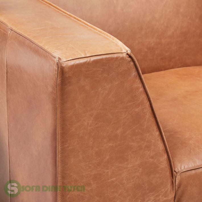 ghế sofa sử dụng da thật