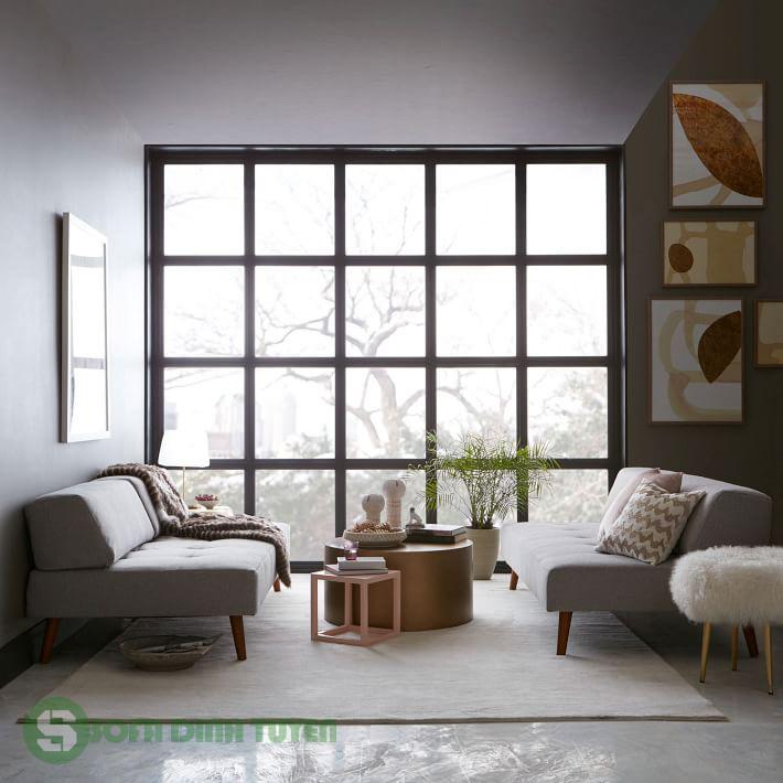 ghế sofa giường cho phòng khách nhỏ hẹp