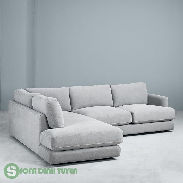 sofa góc đẹp màu xám