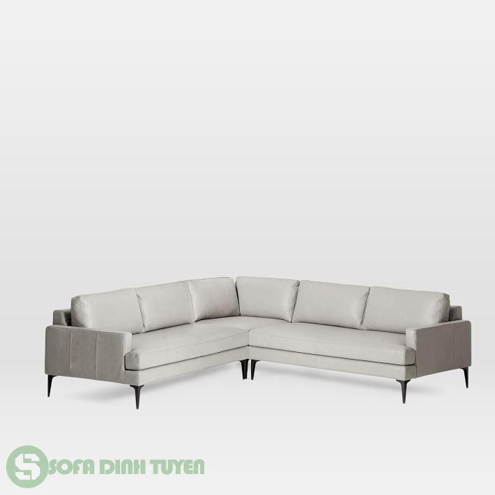 ghế sofa bọc da kiểu sofa góc đẹp