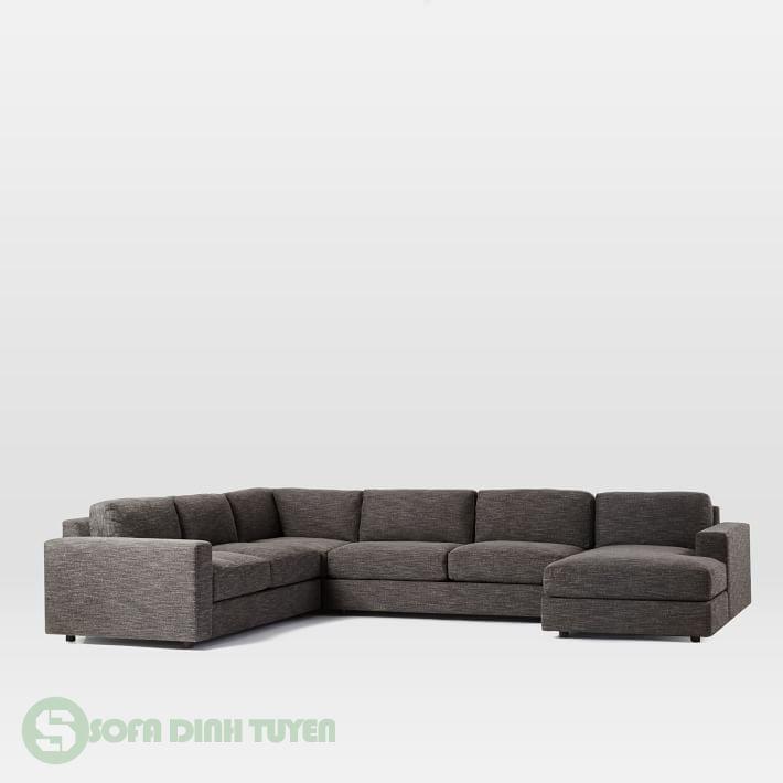 bộ ghế sofa bọc nỉ cỡ lớn