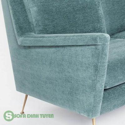 sofa bọc vải nhung đẹp