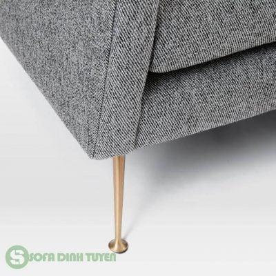 chân ghế sofa bọc nỉ bằng inox