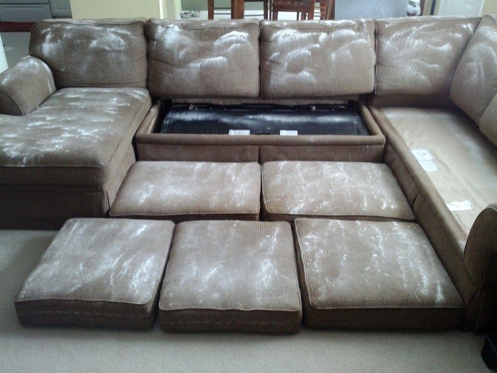 Hướng dẫn làm sạch sofa với baking soda