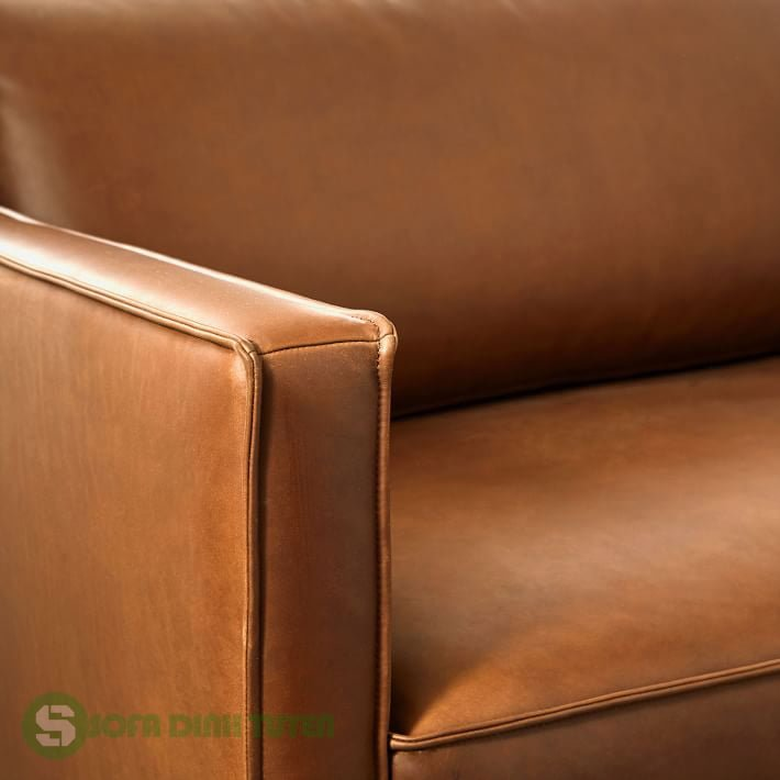 sofa bằng da công nghiệp