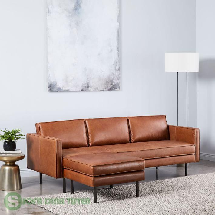 sofa góc trái cho phòng khách gia đình.