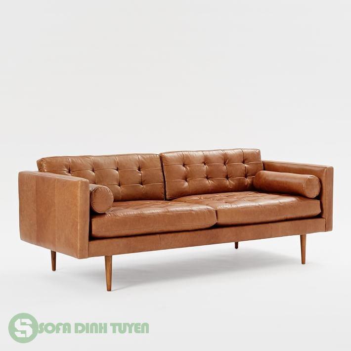 sofa chân ghế gỗ chắc chắn