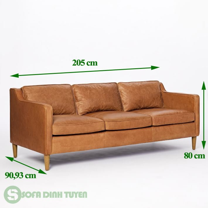 ghế sofa kích thước 2m
