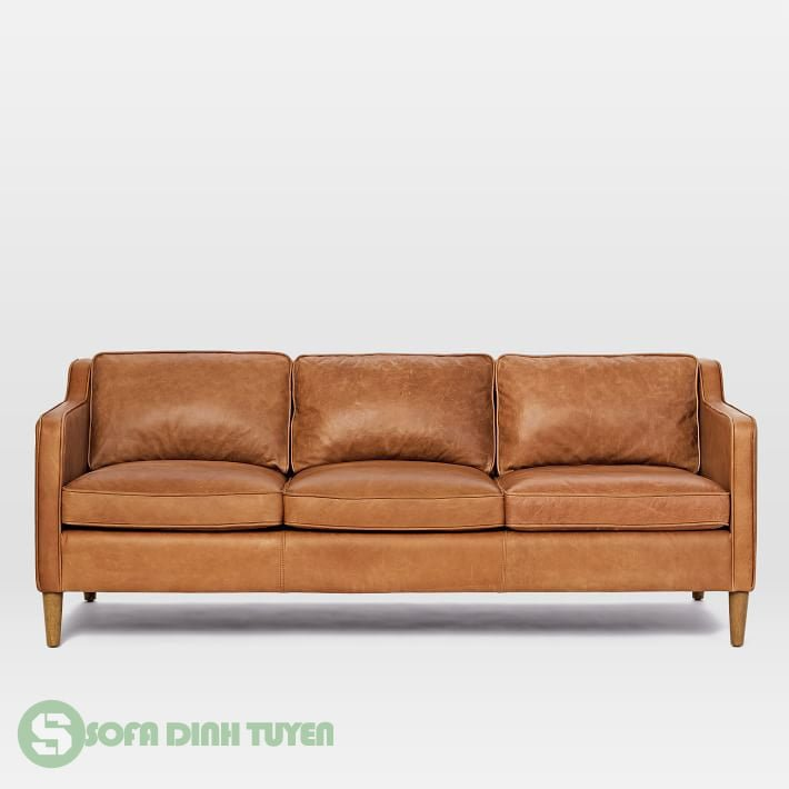 sofa da kiểu dáng 3 chỗ