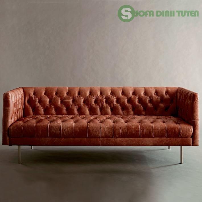 màu sắc ghế sofa da đa dạng