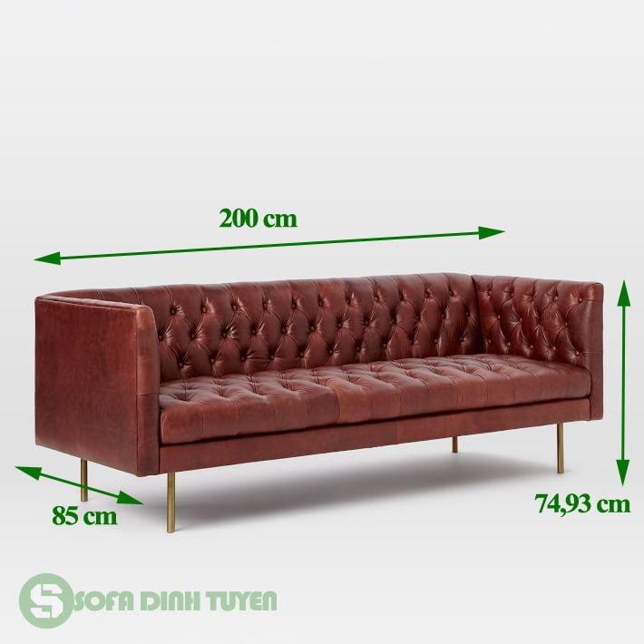 ghế sofa văng nhỏ dài 2m