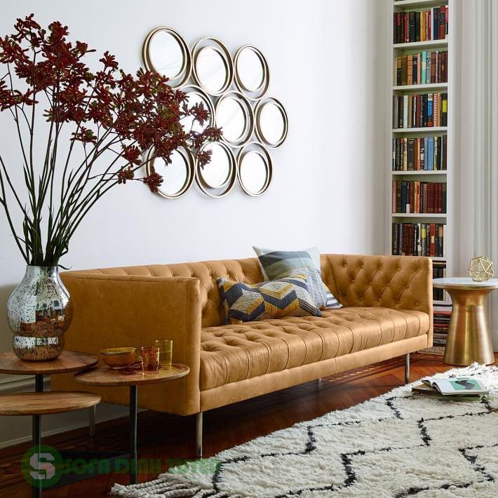 sofa tân cổ điển khi bài trí