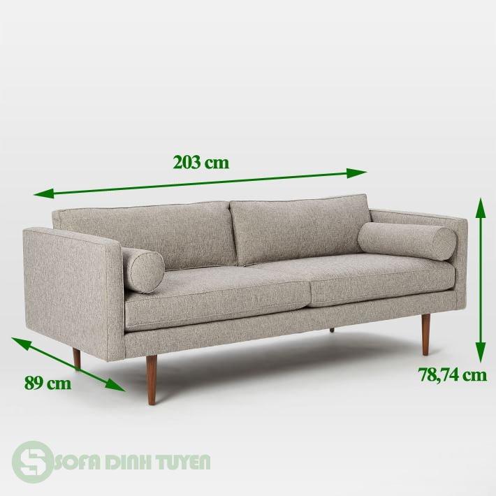 ghế sofa văng 2 chỗ nhỏ nhắn