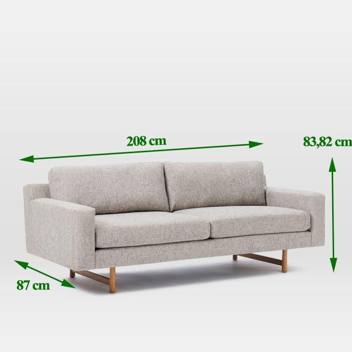 sofa kích thước nhỏ gọn 2 chỗ