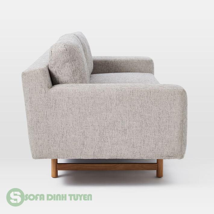 đệm sofa tháo rời góc nhìn từ mặt bên sofa