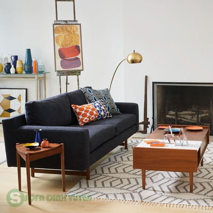 Kiểu dáng sofa văng nhỏ 2 chỗ tinh tế