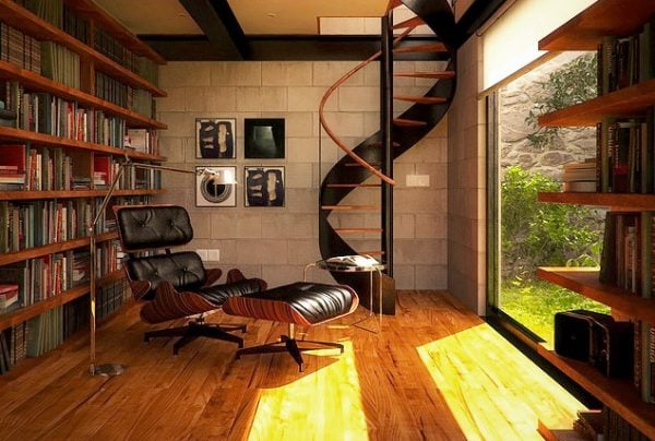 Ghế sofa đọc sách kiểu dáng sofa Relax nhìn rất đẹp và sang trọng.