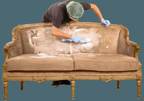 Để vệ sinh sofa vải nên sử dụng dịch vụ chuyên nghiệp để đảm bảo vẻ đẹp.