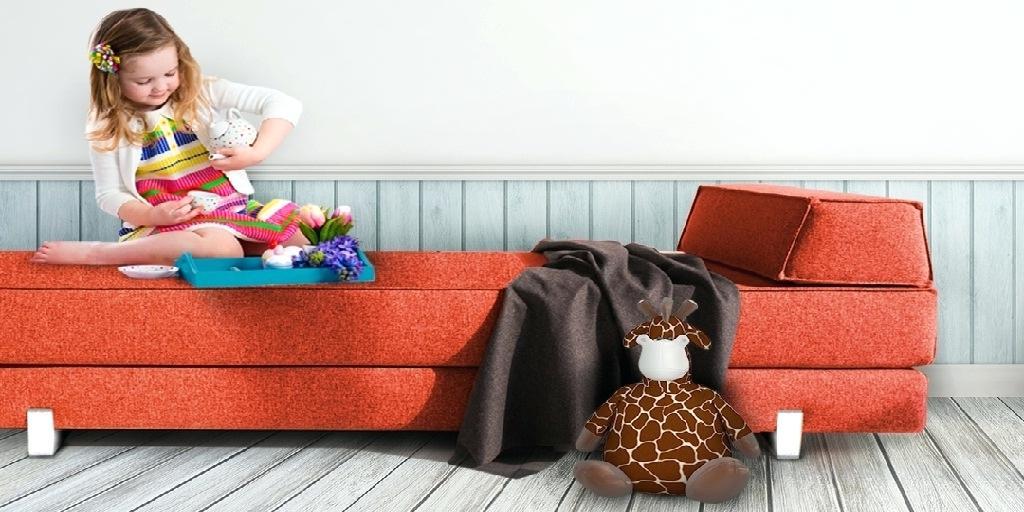 chọn sofa cho nhà có trẻ nhỏ