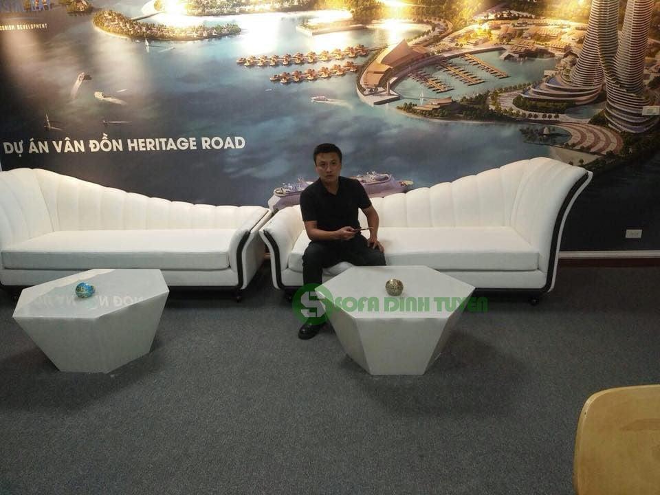 Sofa relax sử dụng trong các phòng chờ của các spa, thẩm mỹ viện sẽ rất tiện lợi