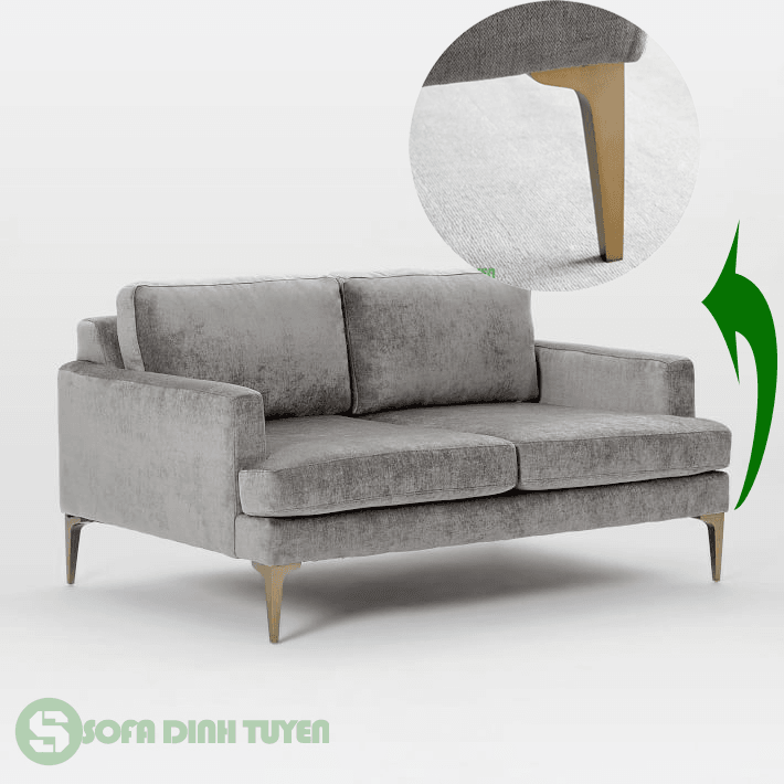 ghế sofa chân sắt