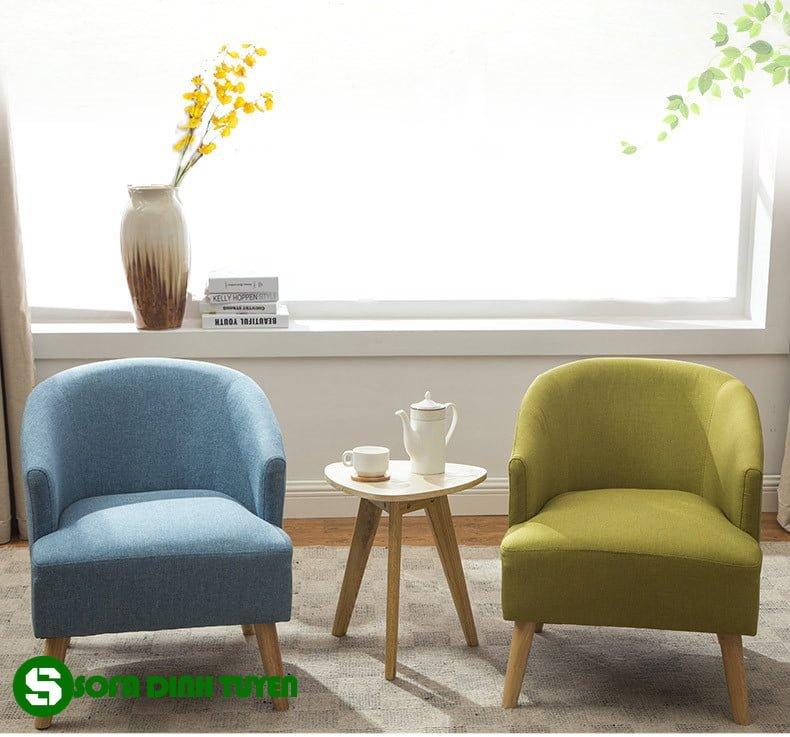 ghế sofa đơn kích thước nhỏ