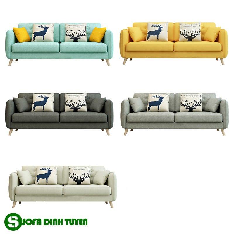 ghế sofa bọc vải sfv18 có màu sắc đa dạng