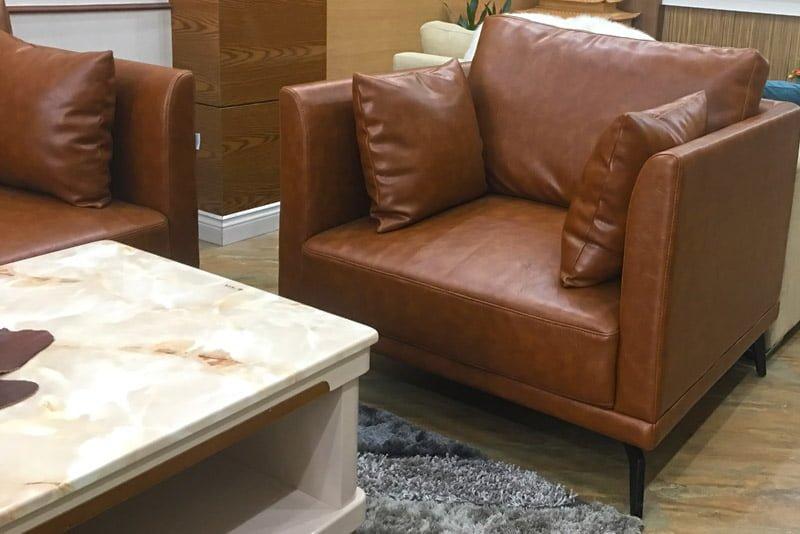 sofa da đệm rời