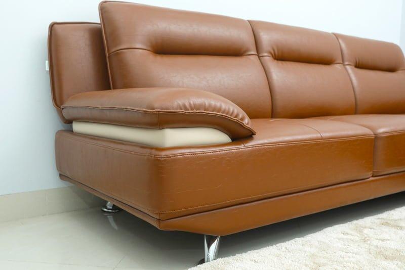 ghế sofa giả da sử dụng da công nghiệp
