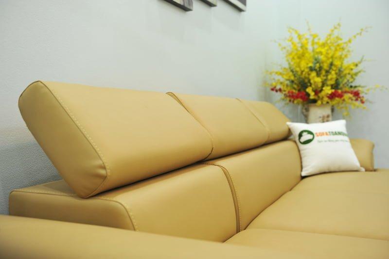ghế sofa có tựa lưng gập gù theo sở thích