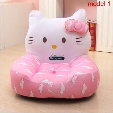 ghế sofa bơm hơi hình dáng hello kitty